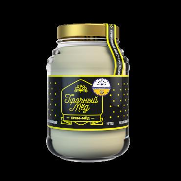 Cream honey (glass jar) 480 ml