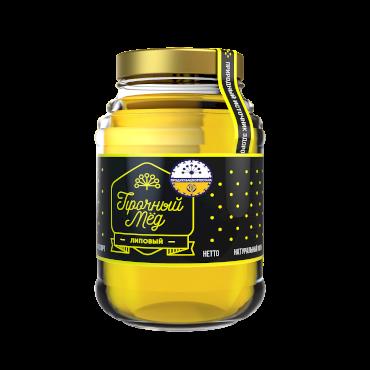 Linden honey (glass jar) 480ml