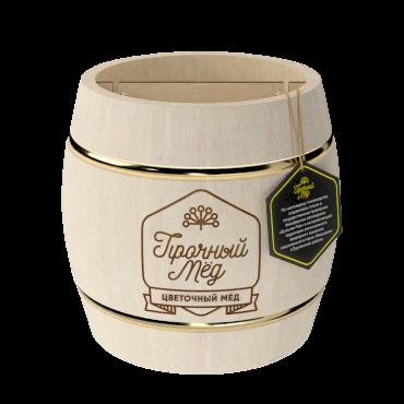 Flower honey (light wooden barrel) 1kg